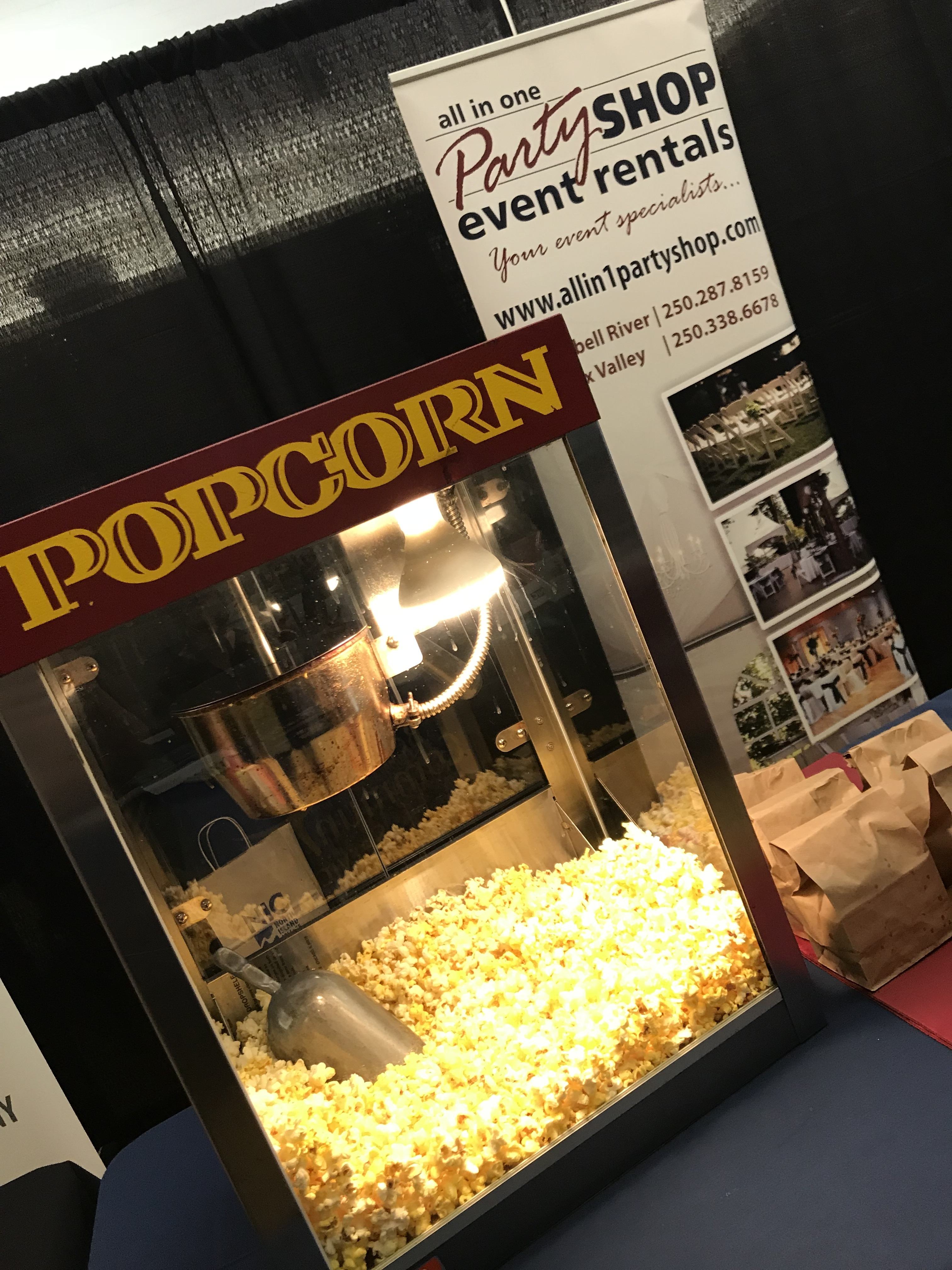 All In One With Popcorn