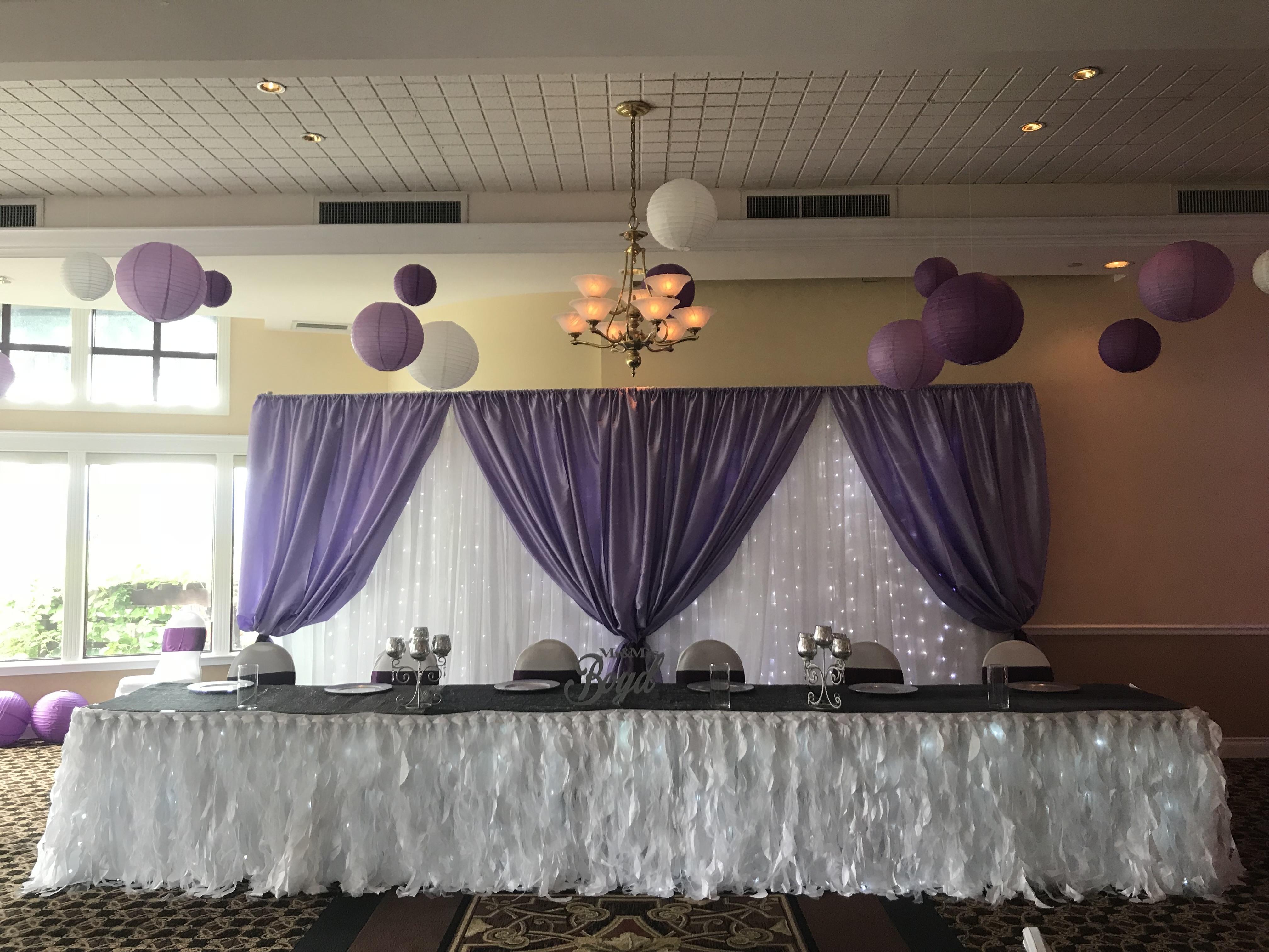 Lavendar Curtain Panels