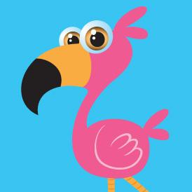 Perky Flamingo