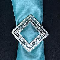 Buckle - Silver - Diamond Encrusted