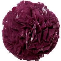 Plastic Pom Poms - Burgundy