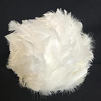 White Feather Ball - 15""