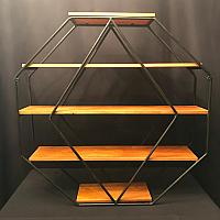 Geometric Shelving Stand
