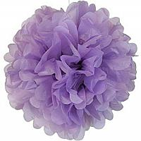 Plastic Pom Poms - Lilac