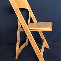 Folding Chair - Wood - Pecan