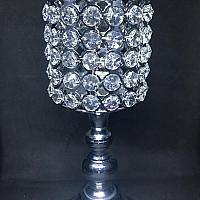 Candle Holder - Crystal Pedestal
