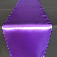 Table Runner - Satin - Purple