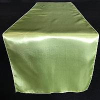 Table Runner - Satin - Tea Green