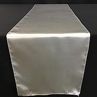 Table Runner - Satin - Silver