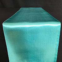 Table Runner - Satin - Turquoise