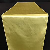 Table Runner - Satin - Yellow