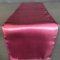 Table Runner - Satin - Eggplant