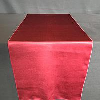 "Table Runner - Satin - Burgundy - 19"" x 106"""