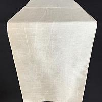 Table Runner - Raw Silk - Champagne