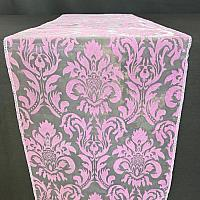 Table Runner - Damask - Lavender