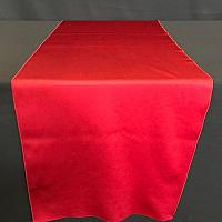 "Table Runner - Satin - Red - 19"" x 106"""