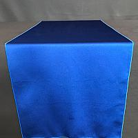 "Table Runner - Satin - Royal Blue - 19"" x 106"""