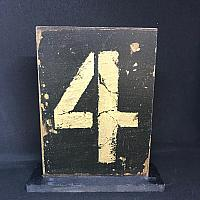 Rustic Table Numbers 1 - 12