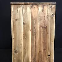 Pillar - Wood - Rustic - 24""