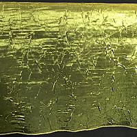 "Table Overlay - Crushed Silk - Moss 72"" x 72"""