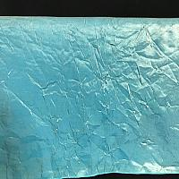"Table Overlay - Crushed Silk - Teal 72"" x 72"""