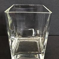 "Square Vase - 4"" x 6"""