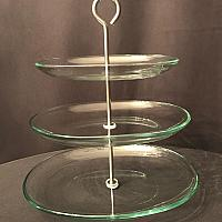 Dessert Stand - 3 Tier - Glass