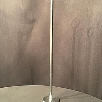 """Table Number Holder - Silver - 18"""""""