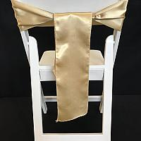 Chair Tie - Silk - Antique Gold