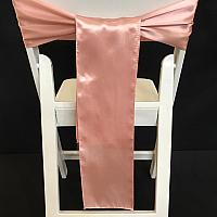 Chair Tie - Satin - Blush