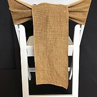 Chair Tie - Burlap