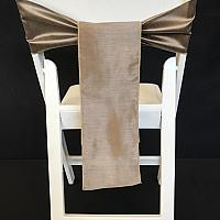 Chair Tie - Raw Silk - Ironwood