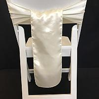 Chair Tie - Silk - Ivory