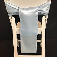 Chair Tie - Silk - Light Blue