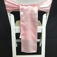 Chair Tie - Silk - Light Pink