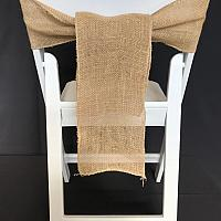 Chair Tie - Burlap - Natural