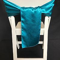 Chair Tie - Silk - Teal