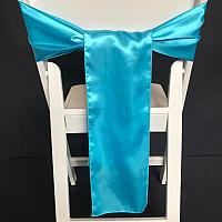 Chair Tie - Silk - Ocean
