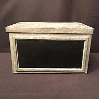 Tin Box w/ Chalkboard Panel