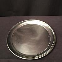 Tray - Round - Stainless - 16""