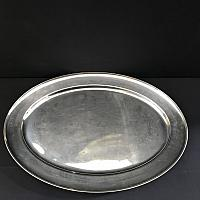 Tray - Oval - Stainless - 20""