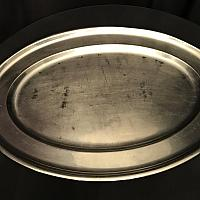 Tray - Oval - Stainless - 24""