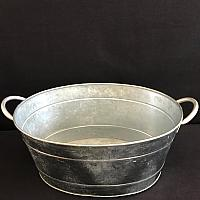 Party Tub - Galvanized Steel