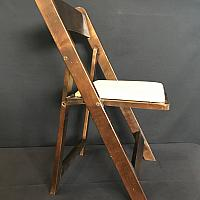 Folding Chair - Wood - Walnut