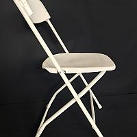 Folding Chair - White