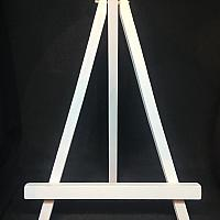 Easel - Wood - Tabletop - White