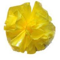 Plastic Pom Poms - Yellow