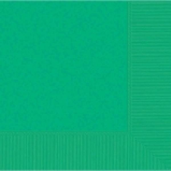Festive Green Beverage Napkin-50 pkg