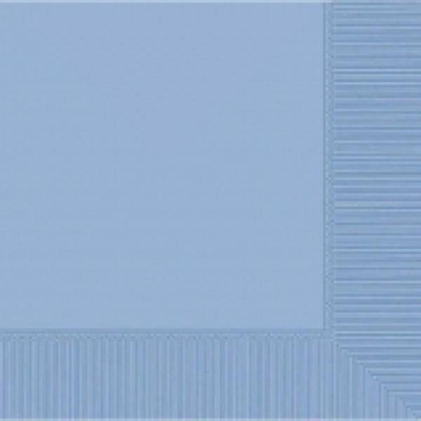 Pastel Blue Beverage Napkin- 50 pkg