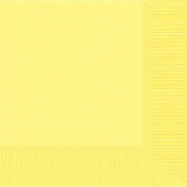 Light Yellow Beverage Napkin-50 pkg